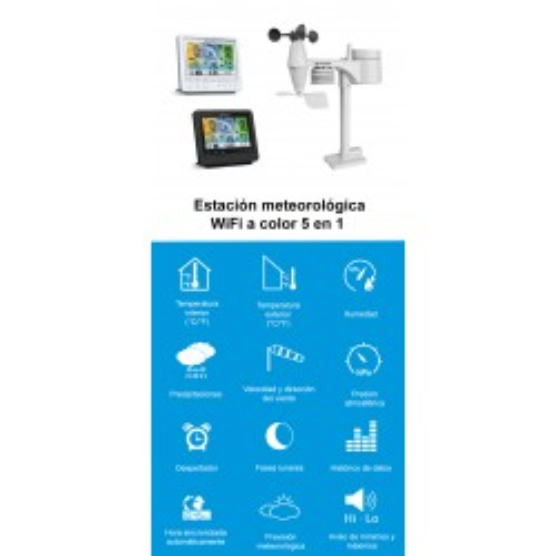 Estación Meteorológica WiFi...