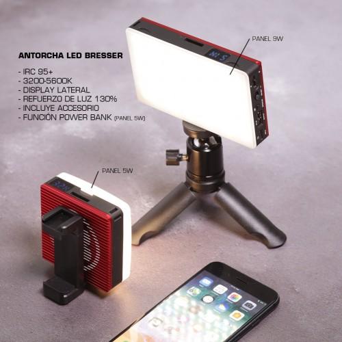 Antorcha LED 9W Bresser