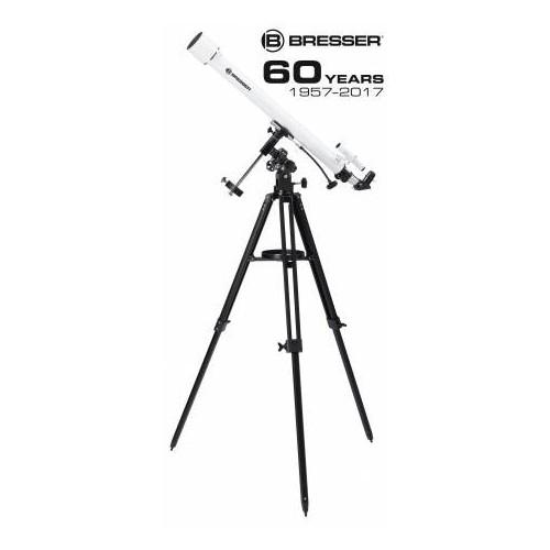 Telescopio refractor 60/900 EQ