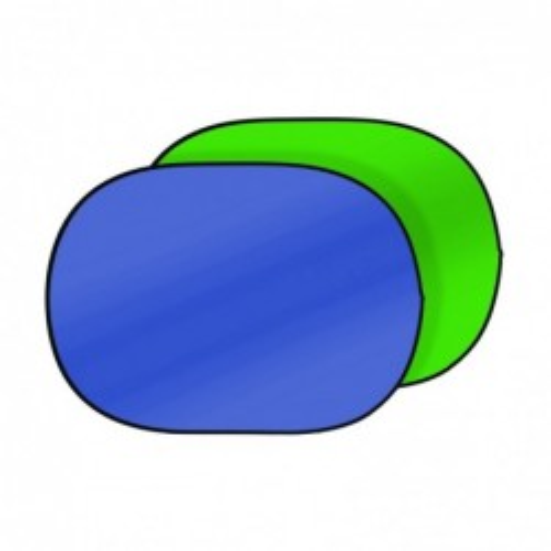 Chroma plegable verde/azul...