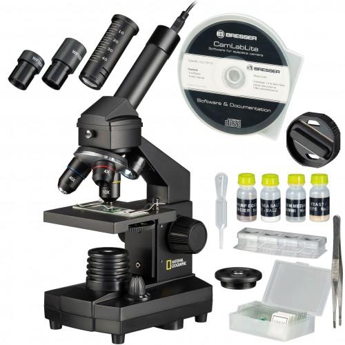Microscopio con maleta de...