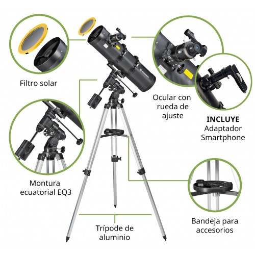 Telescopio 150/1400 EQ2...