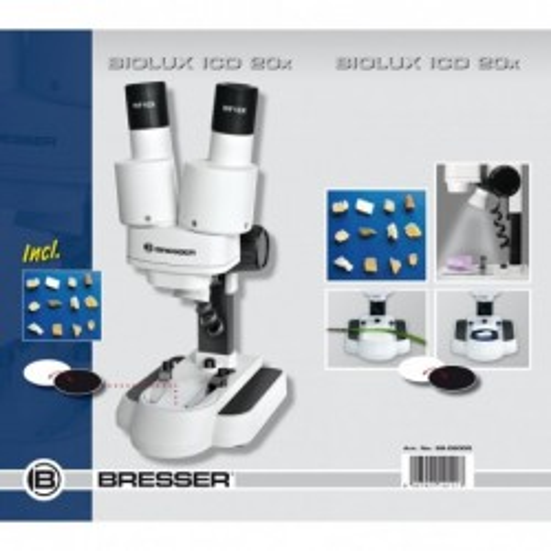 Microscopio ICD 20x Estéreo...
