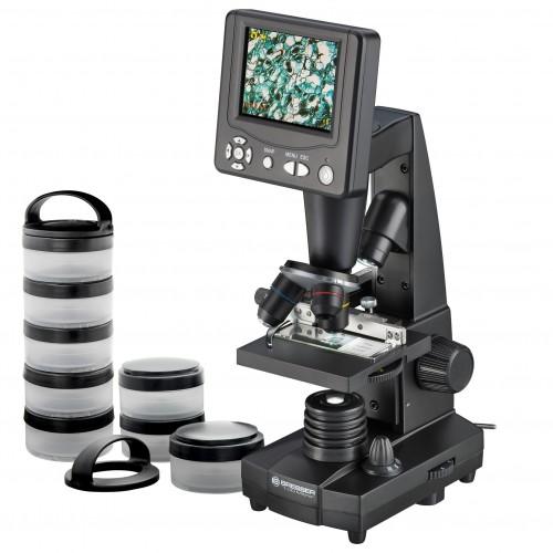Microscopio con pantalla...