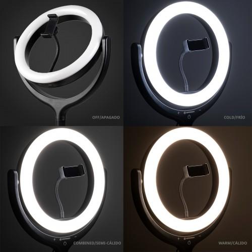 Anillo de iluminación LED...
