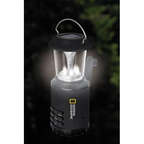 Lámpara solar con dinamo y...